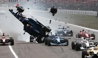 burti hockenheim crash 2001 schumacher ferrari