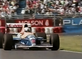 mansell williams montreal 1991