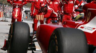 Massa Ferrari pitstop istanbul 2011