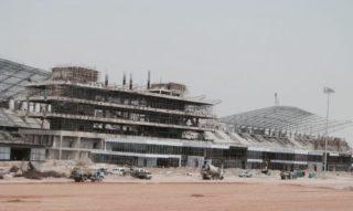 New Delhi circuit work in progress build-up 2011