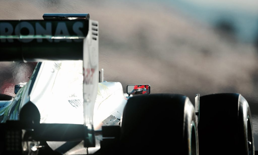 schumacher mercedes 2012 test barcelona